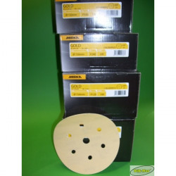 Papier ścierny MIRKA GOLD  na dysk 150mm  P80 10szt
