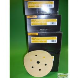 Papier ścierny MIRKA GOLD  na dysk 150mm  P100 - P400 10szt