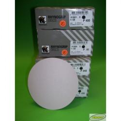 Papier ścierny INDASA RHYNOGRIP  na dysk 125mm  P80 - P400 10szt