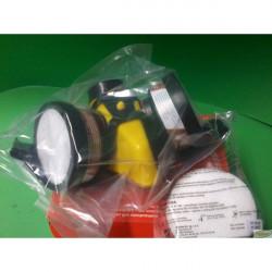 Maska lakiernicza SECURA 2000 żółta silikonowa